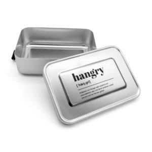 Brotdose mit Aufdruck hangry - definition