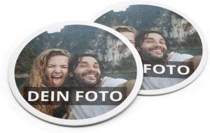 Bierdeckel mit Foto personalisiert auf Bierdeckelkarton bedruckt