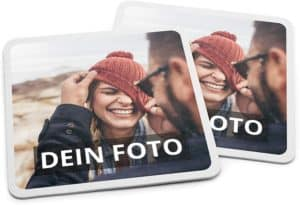 PhotoFancy Bierdeckel mit Foto personalisiert