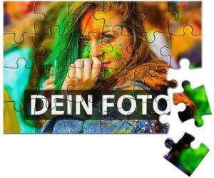 Puzzle mit Foto und 24 Teilen bedrucken