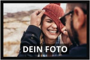 Schmutzfangmatte mit eigenem Foto bedrucken lassen
