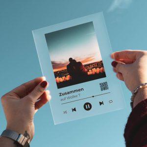 Songcover selbst gestaltet mit Foto und eigenem Text
