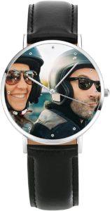 Armbanduhr mit Foto als Ziffernblatt