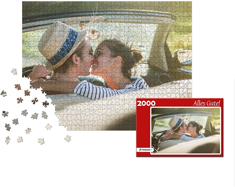 Fotopuzzle mit 2000 und Schachtel