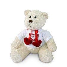 Teddy herzlich mit Foto bedruckt