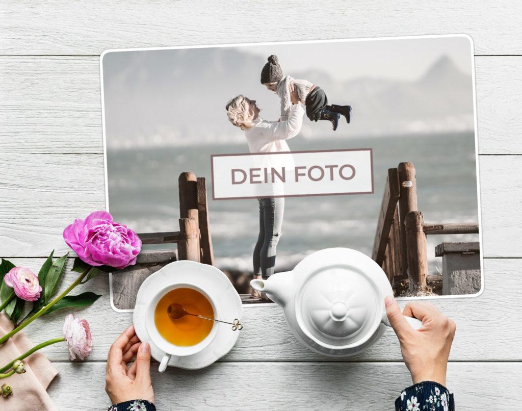 Tischset mit Foto bedrucken lassen im Ambiente