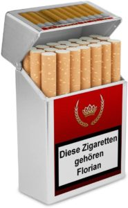 Zigarettenbox als Alternative zur Schachtel