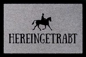 Fußmatte für Reiter und Pferdebesitzer